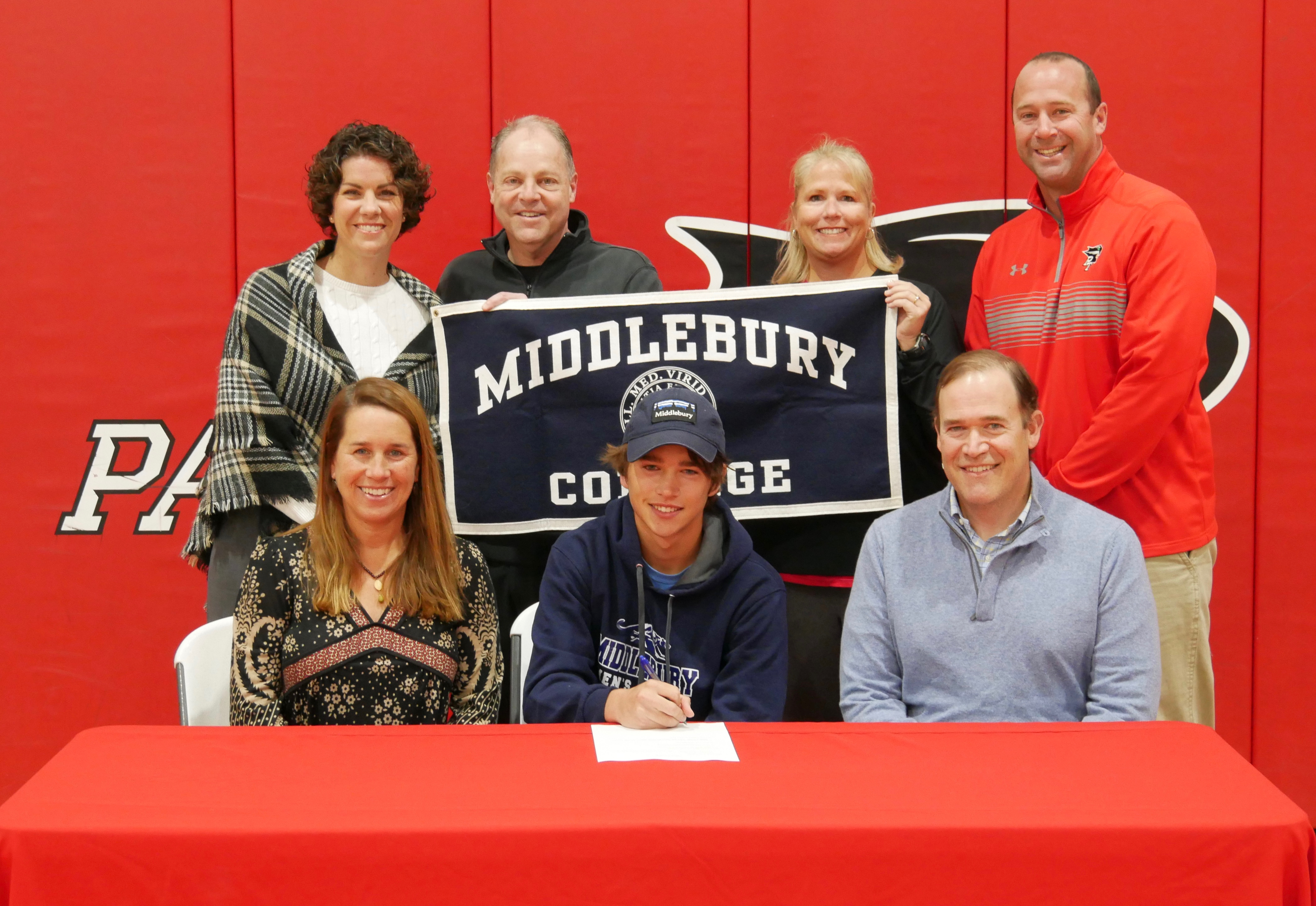 Aidan Harris Commits to Play Tennis at Middlebury College