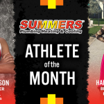 The Summers Plumbing Heating & Cooling February Athlete of the Month is…