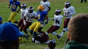 RUHS  Football vs Romulus 9/19/2014