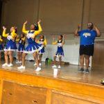 Varsity Sideline Cheer team