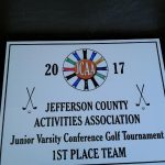 Windsor JV Golfers-1st Place in the Conference Tournament!