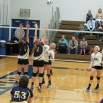 St. Catherine of Siena Academy JVB Volleyball lost to Howell Christian 0-3