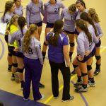 Varsity Volleyball beat Trojans 3-0