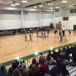Varsity Volleyball beat Warriors 3-1