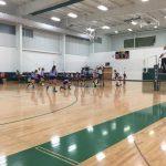 Varsity Volleyball beat Gryphons 3-0