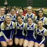 Cheer finishes 4th at Districts, Advance to Regionals!