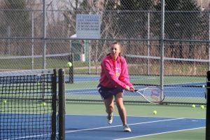 Tennis  vs  Jewish Academy  4-12-16