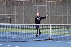 Tennis stomps Cabrini  2016