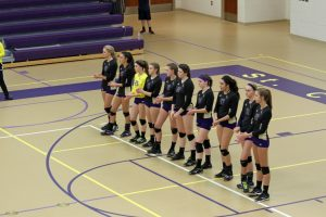 Varsity Volleyball Victory  September 15, 2016