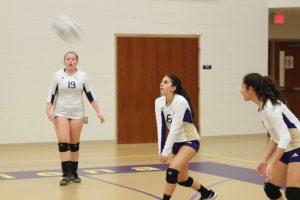Freshman Volleyball vs Regina Sept 29, 16