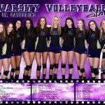 St. Catherine of Siena Academy Girls Varsity Volleyball beat Everest Collegiate High School Academy 3-0