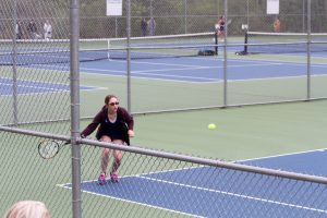 Tennis vs Farmington and Bishop Foley