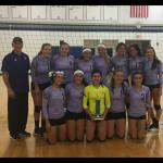 JV Volleyball beat Franklin Road 2-0
