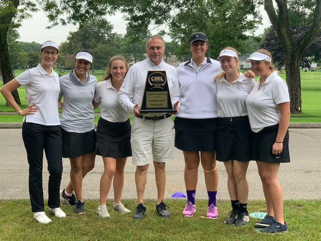 Golf Team Places 2nd in AA Division