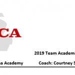 Congrats to the 2019 SCA Volleyball Team!!!