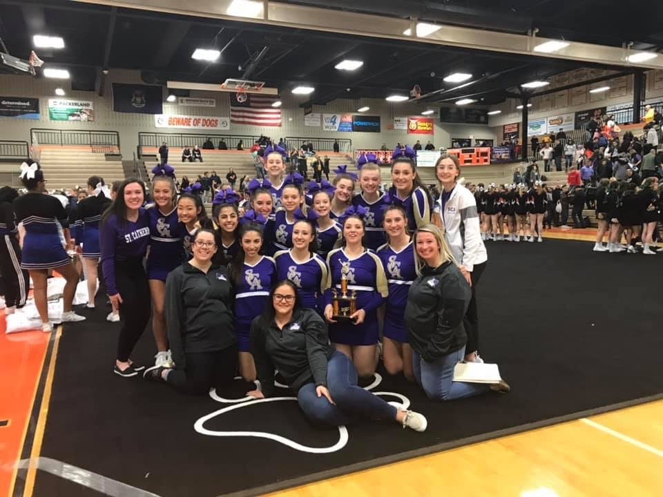 Cheer Places 2nd at Brighton Cheer Tournament