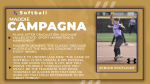 Spring Senior Spotlight:  Maddie Campagna