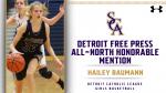 Detroit Free Press ALL-NORTH Honorable Mention: Hailey Baumann