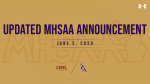 Updated MHSAA Timelines for Return of School Sports