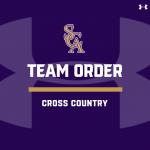 Cross Country Team Order- 2020 Fall Season