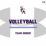 Volleyball Team Order- Fall 2020