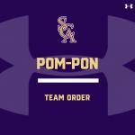 Pom-Pon Team Order- 2020 Fall