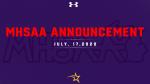 MHSAA Announcement- July 17, 2020