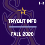 2020 Fall Tryout Information
