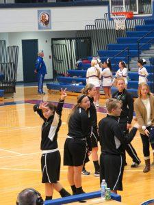 Girls Varsity Basketball @ Mt. Sterling 1-14-15 Loss  59 to 57