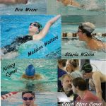 Vikings Sweep 400 Freestyle Relays