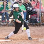 Softball Ends Skid With District Win