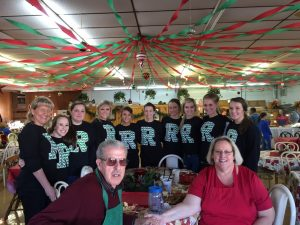 RC Cheer gives back 2014-2015 Community Service