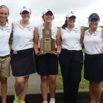 Swinging in the Rain; Girls Golf Team Wins Big at Region!