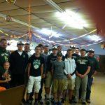 Vikings Baseball Volunteers at Soup Kitchen