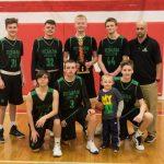 Boys Freshman Basketball Win District Tournament