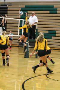 Varsity Volleyball @ Chisago Lakes 8-22-2014