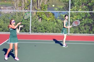 Girls Varsity Tennis vs. St. Croix Lutheran 9/2/14