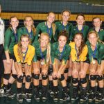 New Life Academy Varsity Volleyball beat Monticello for Tournament Win
