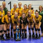 New Life Academy Varsity Volleyball Win Showcase A Tournament