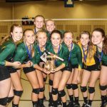 NLA Varsity Volleyball beat Robbinsdale Armstrong to Bring Home the Ax