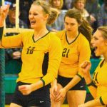 New Life Volleyball: Eagles sweep defending state champ, sit one win from state