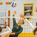 New Life Volleyball: Eagles fall in section final