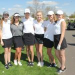 Girls Golf Start Section Play