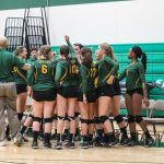 Volleyball: Eagles win first match in conference play (Woodbury Bulletin)