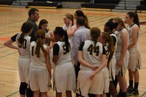 Girls Junior Varsity Basketball vs. Humboldt 12.8.16