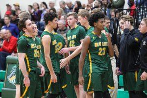 Varsity Boys Basketball vs. Minnehaha Academy 1.3.16