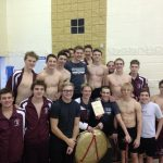 Boys Swim Team Wins AAC Championship