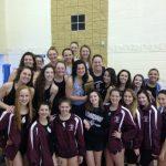 Girls Swim Team Wins AAC Championship