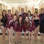 Senior Swimmers Honored At Last Home Meet