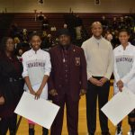 Girls Basketball Seniors Honored As Spartans Win Four In A Row